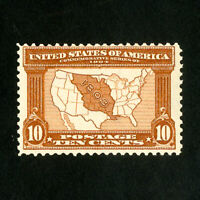 US Stamps # 327 F-VF Mint Deep Color OG NH Scott Value $300.00