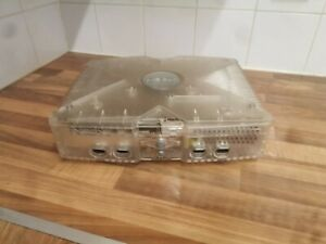 Microsoft Xbox Crystal 8GB Translucent Console + Wireless & Wired Controllers