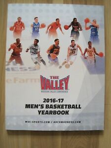 2016-17 Missouri Valley Conference men's basketball media guide yearbook MVC