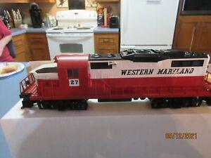 Lionel 6-18841 Western Maryland GP-20 Diesel Locomotive NIB