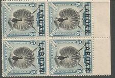 Labuan Bird SG 114 Block of 4 Top Margin MNH (2cws)