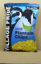 75gr. Salted Plantain Chips/ gesalzene Bananenchips von Village Pride, Jamaika