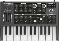 Arturia MicroBrute 25 Key Analog Synthesizer Micro Brute MIDI Synth Keyboard New