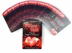 Intimate Pillow Talk Sexual Playing Card Game Romantic Sexy Couples Naughty Gift