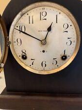 Antique Seth Thomas 8 Day Mantel Clock-Gothic Beehive Mahogany