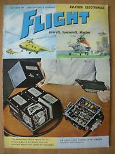 FLIGHT AIRCRAFT SPACECRAFT MAGAZINE OCTOBER 7th 1960 AVIATION ELECTRONICS