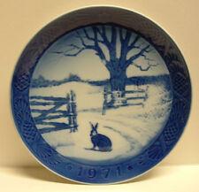 """Royal Copenhagen Denmark 1971 """"Hare in Winter"""" by Kai Lange Euc"""