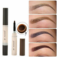 Waterproof Eye Brow Dye Cream Pencil Long Lasting Eyebrow Set Beauty Makeup FJ