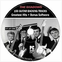 The Shadows & Hank Marvin Guitar Backing Tracks 155 Songs MP3 DVD Software
