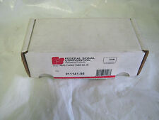 Federal Signal Replacement Flash Tube DA JR #211141-95  New in Box!  Nice!!