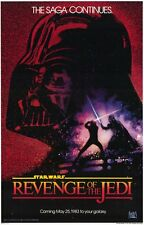 "Star Wars ""Return of The Jedi"" - 27"" x 40"" Movie Poster A 1983"