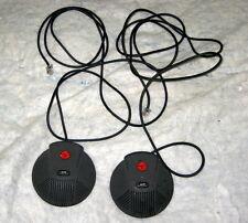 Pair of Polycom SoundStation EX External Microphones  2201-00698-001