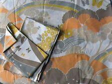 Parure Tergal Vintage DESCAMPS Drap + Taies Oreiller & Traversin Lit 1 personne