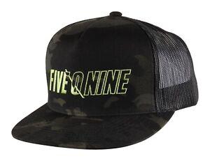 509 Night Ops BLACK CAMO Trucker Snapback Cap Hat  - Brand New