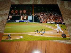 Cal Ripken Jr. Signed 11x14 Photo 2007 Baltimore Orioles Baseball Autograph Auto