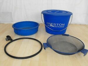PRESTON OFF BOX BUCKET BOWL RIDDLE HOOP SET seatbox pole match fishing setup