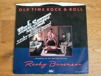 Tom Cruise & BOB SEGER RISKY BUSINESS OLD TIME ROCK AND ROLL 45 good used