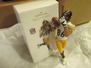 Hines Ward - Pittsburgh Steelers Hallmark Keepsake Ornament 2012