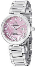 425.30.34.20.57.001   BRAND NEW OMEGA DEVILLE LADYMATIC PINK DIAL WOMEN'S WATCH