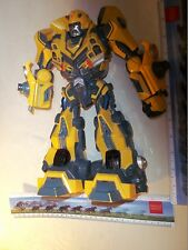 """2006 Hasbro Bumble Bee Cyber Stompin Transformers Action Figure 11"""" High"""