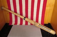 "Vintage Adirondack Wood Baseball Bat Pro Ring Model 34"" Philadelphia Dept.Rec"