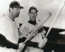 ted williams red sox and hank greenberg tigers 8x10 photo 1940 all star game