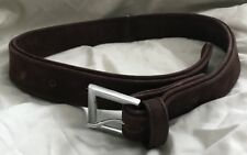 Pets At Home Brown Suede Dog Collar L