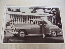 1952  PLYMOUTH  BELVEDERE CLUB COUPE   11 X 17  PHOTO  PICTURE