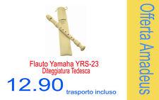 Flauto Dolce Soprano Diteggiatura tedesca Yamaha Yrs23