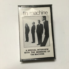 TIN MACHINE Interview 1989 CANADA Promo CASSETTE Music & Interview DAVID BOWIE