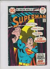 SUPERMAN #288 VG+, Dick Giordano cover, Curt Swan art, low cost copy, DC 1975