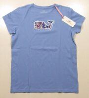 Vineyard Vines Girls S/S Bayside Blue Stars & Whales Graphic Pocket T-Shirt