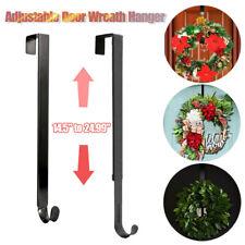 Upgrade Adjustable Metal Door Wreath Hanger Wreath HooK Holder Party Home Decor