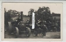 More details for steam traction engines inc reg ke 9775 and bicycle in company yard rp message
