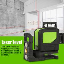 3D Laser Rotatif Niveau Auto-nivellement 8 Lignes Croix Mesure Outil Imperméable
