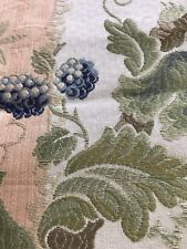 "2 Scalamandre fabrics  - VILLA LANTE STRIPE - Stripe Lampas  - V 23"" H 27""-  -"