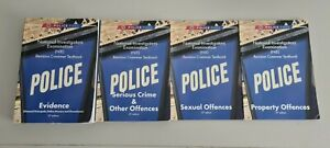 Police pass books (NIE) Revision Crammer book bundle - 4 books