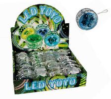 Kunststoff YoYo mit Kupplung Kugellager und LED 4fach sortiert Yo-Yo JoJo