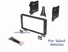 Double Din Car Stereo Radio Dash Kit Combo for some 2001 2002 2003 Ford Mustang