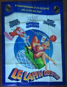 Poster The Rabbit Looping Dick Tracy Roger Rabbit 120x160cm