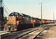 B&LE#861 SD38 Albion Penna Sept 76 Original Photo-Railroad
