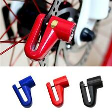 Security Anti-theft Heavy Duty Motorcycle Moped Scooter Disk Brake Rotor Lock FT