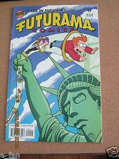 Futurama #  9 May 2002 - Matt Groening - Bongo Comics - 1st NO CCA stamp!      K