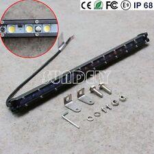 slim car led 20watt 9v 32v car running light bar with led for single row 6500K
