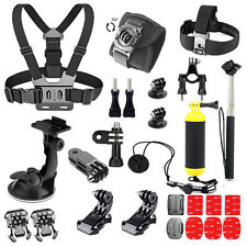 Outdoor Sports Accessories Kit for GoPro Hero 5 Session 4 3+/AKASO EK7000 Action