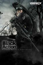 Very Hot US PMC Black Action - Sniper Set 1/6 IN STOCK