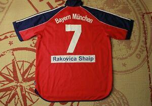 BAYERN MUNICH # 7 1999 2001 FOOTBALL SHIRT JERSEY HOME ADIDAS ORIGINAL SIZE XL