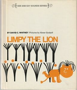 Limpy the Lion by David C. Whitney 1969 Abner Graboff See and Say Sounds Rare