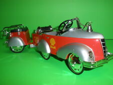 SHELL GENDRON PIONEER PUMPER TOW TRUCK PEDAL CAR & TRAILER CROWN PREMIUMS