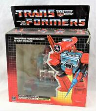 Transformers Original G1 1986 Perceptor Complete w/ Box and Bubble